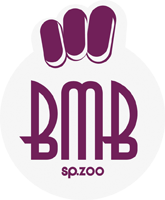 logo białe bmb
